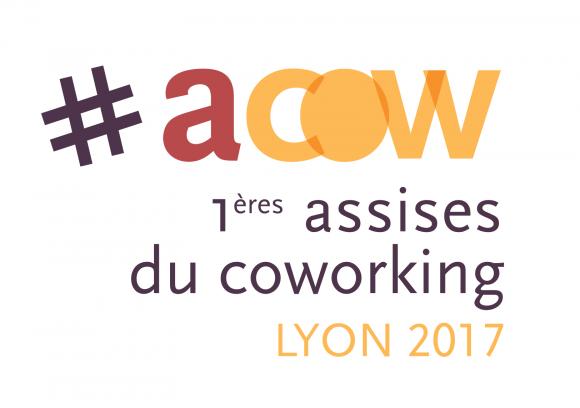 logotype #ACOW les assises du coworking lyon lidbury