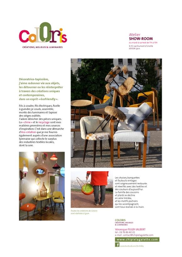 image du dossier de presse de coloris graphisme, conception, design emma lidbury graphiste lyon