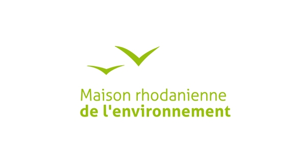 refonte du logotype et Identité visuelle de la maison rhodanienne de l'environement
