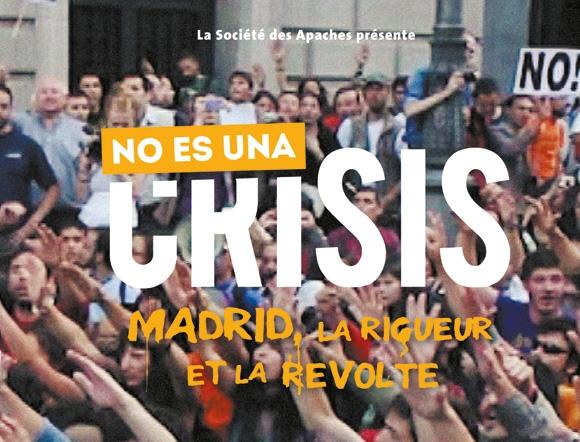 création de la jaquette du dvd du web-documentaire No es una crisis