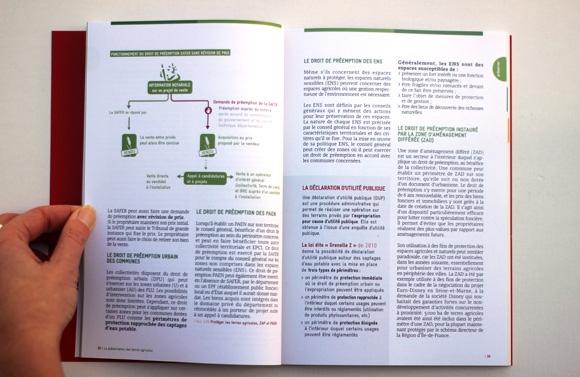 Guide Agir sur le foncier agricole rôle essentiel des élus Terre de Liens graphisme mise en page